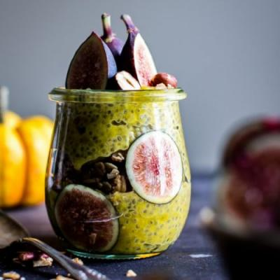 Pumpkin and Spice Chia Pudding