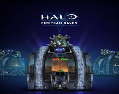 Halo arcade game now available at Dave & Buster's in North America