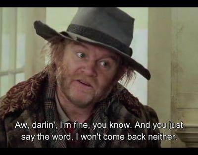 In Cold Mountain (2003), does Brendan Gleeson also play the role of the fiddlist in the confederate field hospital?