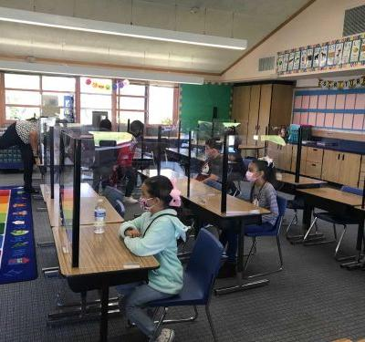 All 10 Santa Cruz County School Districts have reopened for in-person learning