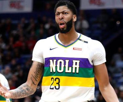 Anthony Davis on loss: Pelicans weren't 'interested in playing'