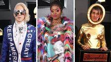 2019 Grammy Awards: The Wildest And Weirdest Red Carpet Looks