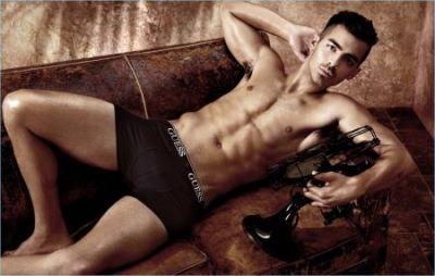 Joe Jonas Strips Down to Underwear for New GUESS Campaign
