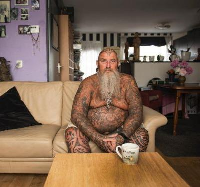 This striking photo series shows what tattoos look like as you age