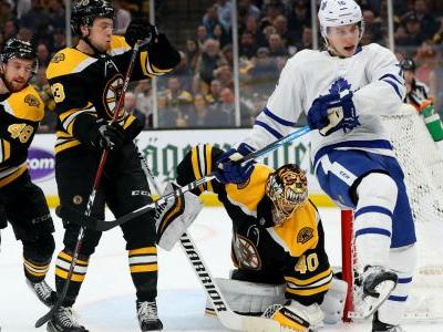 NHL playoffs 2019: Goaltenders react to controversial interference call in Maple Leafs-Bruins