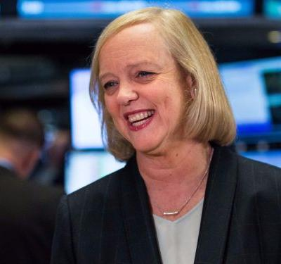 Meg Whitman is stepping down from the CEO job at Hewlett Packard Enterprise