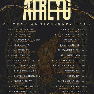 ATREYU Announces 20th-Anniversary U.S. Tour With WHITECHAPEL, HE IS LEGEND