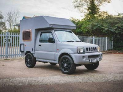 Go Small And Go Anywhere In This Suzuki Jimny Camper