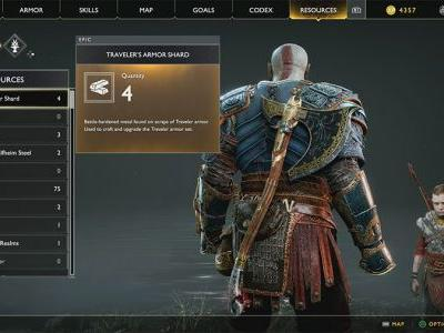 Where To Find Traveler's Armor Shards In God Of War