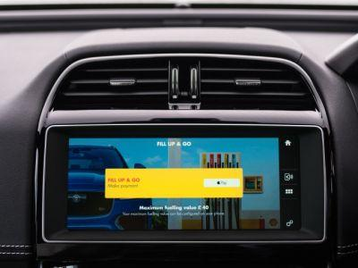 Jaguar launches in-car payments at Shell gas stations