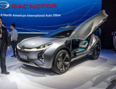 China's GAC Debuts EV Concept; Announces U.S. Sales in 2019