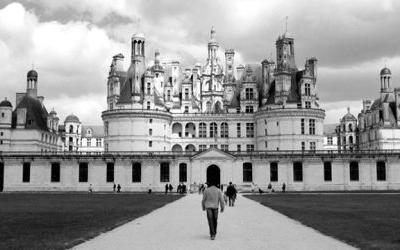 Nadine Ryan shot Château de Chambord in France for our 2015