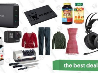 Wednesday's Best Deals: USB-C Chargers, Supplements, Nordstrom Half-Yearly Sale, and More