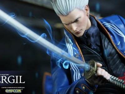 New Devil May Cry Vergil Figure to Debut at E3 2018