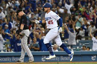 Beaty's 3-run homer saves the day after Dodgers bullpen chokes lead away