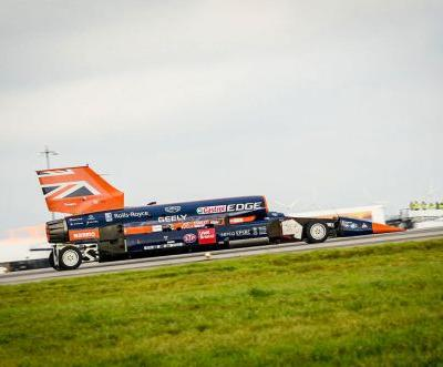 Bloodhound SSC Will Have A First Record Attempt In 2019