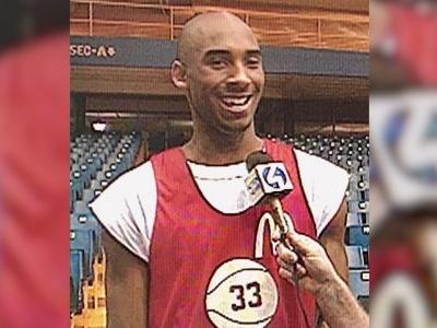WATCH: NBA superstar Kobe Bryant at Civic Arena in Pittsburgh in 1996