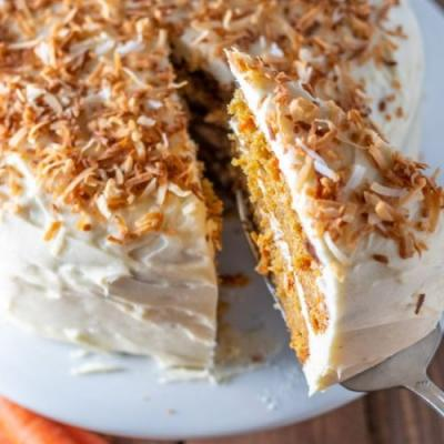 Carrot Cake & Brown Butter Frosting