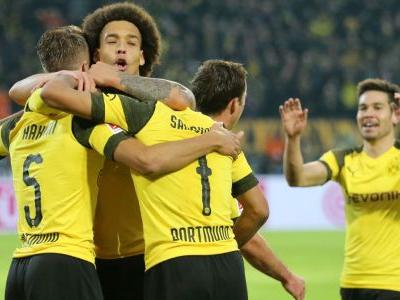 Dortmund hammer Hannover with quickfire treble to go nine clear