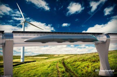 Hyperloop Transportation Technologies claims more than $100 million in total investment