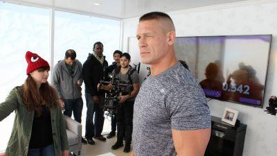 On the cusp of Nintendo's uncertain future, I played video games in the desert with John Cena