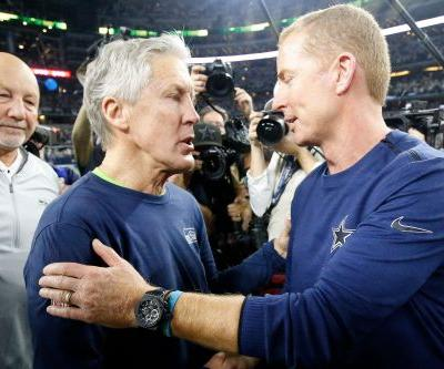 Cowboys stuff Seahawks' run in wild-card win; it's pass next