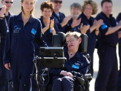 Scientists recall stories of how they crashed into Stephen Hawking's wheelchair