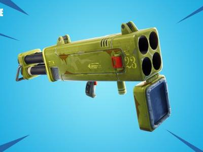 Fortnite 4.2 patch adds Burst Assault Rifles, health-restoring apples, Quad Launcher