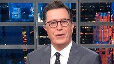 Stephen Colbert Reacts To The 'Most Shocking Allegation' In Omarosa's Trump Tell-All