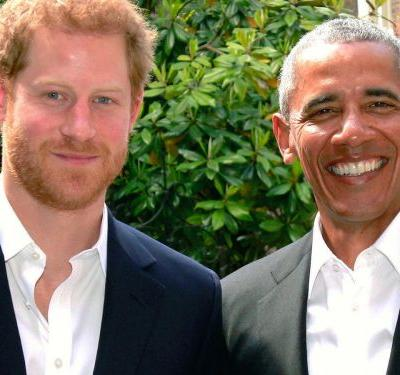 The Barack Obama & Prince Harry Bromance Is Alive & Well