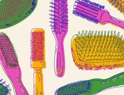 The Right Blowout Brush For Your Hair Type