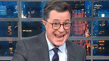 Stephen Colbert Hits Donald Trump's Response To Bomb Scare With A Brutal 'Fact-Check'