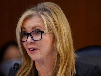 Trump ally Sen. Marsha Blackburn called Biden the president-elect and Harris the vice president-elect, but her office later said she 'misspoke'