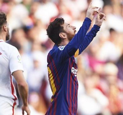 Messi insists LaLiga is not over despite scoring 50th career hat-trick to help beat Sevilla