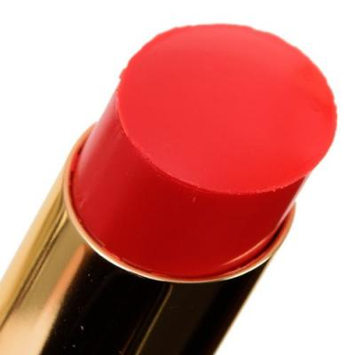 YSL Orange Crepe, Rouge Cape, Red Cassandre Rouge Volupte Shine Oil-in-Sticks Reviews & Swatches
