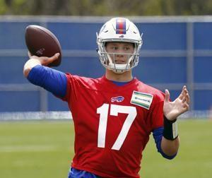 Bills sign rookie QB Allen; McCoy reports for start of camp
