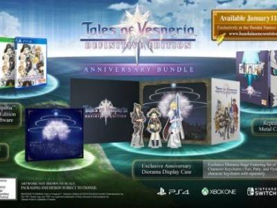 Tales of Vesperia: Definitive Edition's Anniversary Bundle Contents Revealed
