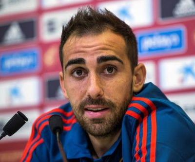 Watch: Paco Alcacer leads Spain over Wales