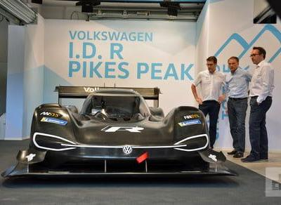 Volkswagen aims for Pikes Peak glory with a new electric race car