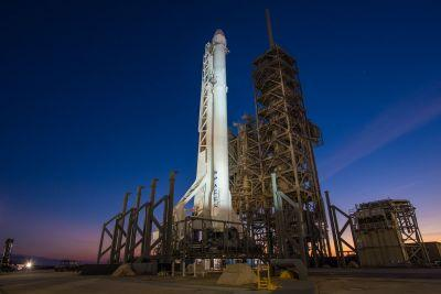 Watch SpaceX launch its Falcon 9 rocket from one of NASA's most historic launch pads
