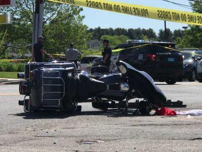 59-year-old father killed in motorcycle crash, police chief says
