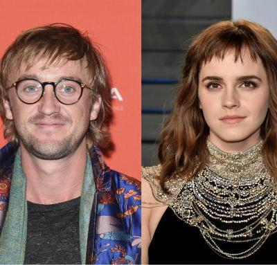Emma Watson & Tom Felton's Body Language Gives A Major Clue About Their Rumored Relationship Status