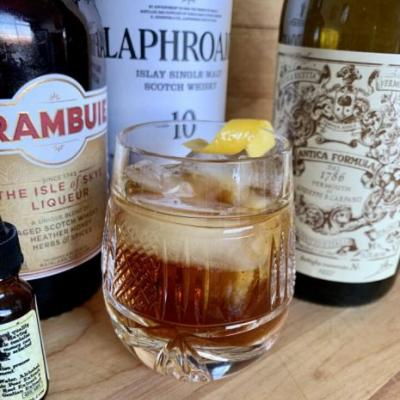 Friday Cocktail Hour: The Bobby Burns