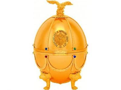 This $1,865 Vodka In a Golden Fabergé Egg Is the Stuff of Your Duty-Free Dreams