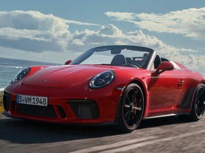 New Porsche 911 Speedster Finally Revealed With Manual Only