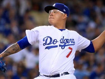 Dodgers' Julio Urias arrested on domestic battery charge, report says