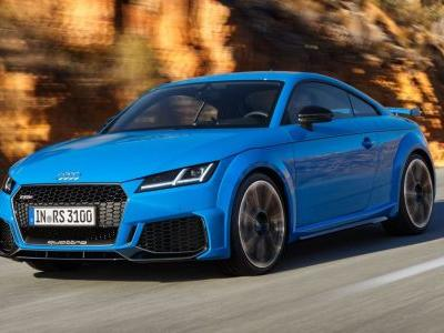 The Slightly New Audi TT RS Just Warbled Into Our Lives