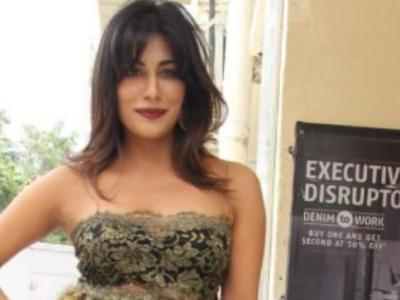 Chitrangda Singh stuns in off-shoulder dress at Soorma trailer launch