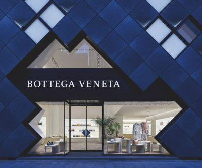 Bottega Veneta's largest Asia flagship is inspired by light and Tokyo's futuristic spirit