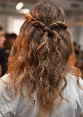How to Copy the Prettiest NYFW Hairstyle We're Obsessed With